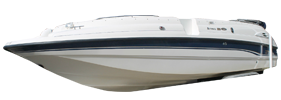 232 Sunesta Sterndrive Chaparral Bimini Tops | Custom Sunbrella® Chaparral Covers | Cover World