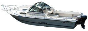 234 Striker Outboard Chaparral Bimini Tops | Custom Sunbrella® Chaparral Covers | Cover World
