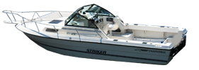 234 Striker Sterndrive Chaparral Bimini Tops | Custom Sunbrella® Chaparral Covers | Cover World