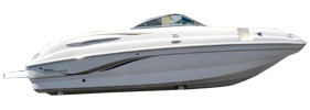 254 Sunesta Sterndrive Chaparral Bimini Tops | Custom Sunbrella® Chaparral Covers | Cover World