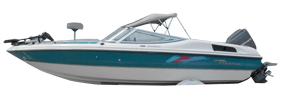 Gemini 190 Outboard Chaparral Bimini Tops | Custom Sunbrella® Chaparral Covers | Cover World