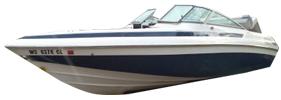 Condurre 252 Cobalt Boat Covers