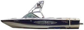 Air Nautique 216 Correct Craft Boat Covers