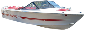 Mustang 17 Correct Craft Boat Covers
