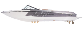 Ski Nautique 200 Open And Closed Bow Correct Craft Boat Covers
