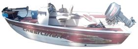 14 Angler Outboard Crestliner Boat Covers | Custom Sunbrella® Crestliner Covers | Cover World
