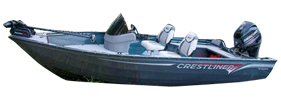 14 Kodiak Outboard Crestliner Bimini Tops | Custom Sunbrella® Crestliner Covers | Cover World