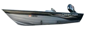 14 Sportsman Outboard Crestliner Bimini Tops | Custom Sunbrella® Crestliner Covers | Cover World