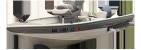 1400 Angler SC Outboard Crestliner Boat Covers | Custom Sunbrella® Crestliner Covers | Cover World