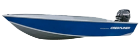 1450 Sportsman SC Outboard Crestliner Boat Covers | Custom Sunbrella® Crestliner Covers | Cover World