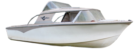 16 Explorer Outboard Crestliner Bimini Tops | Custom Sunbrella® Crestliner Covers | Cover World