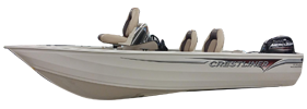16 Kodiak Outboard Crestliner Bimini Tops | Custom Sunbrella® Crestliner Covers | Cover World