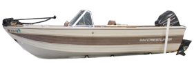 16 Northstar Outboard Crestliner Bimini Tops | Custom Sunbrella® Crestliner Covers | Cover World