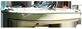 160 Crusader Angler DLX Outboard Crestliner Boat Covers | Custom Sunbrella® Crestliner Covers | Cover World