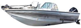 160 Crusader Outboard Crestliner Boat Covers | Custom Sunbrella® Crestliner Covers | Cover World