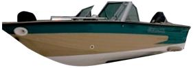 160 Sportfish Outboard Crestliner Boat Covers | Custom Sunbrella® Crestliner Covers | Cover World