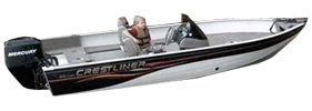 1600 Angler SC Outboard Crestliner Boat Covers | Custom Sunbrella® Crestliner Covers | Cover World