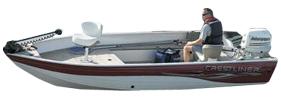1600 Angler Tiller Outboard Crestliner Boat Covers | Custom Sunbrella® Crestliner Covers | Cover World