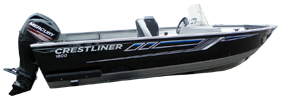 1600 Pro Outboard Crestliner Boat Covers