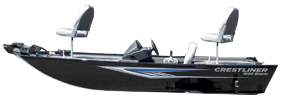1600 Storm Outboard Crestliner Boat Covers | Custom Sunbrella® Crestliner Covers | Cover World