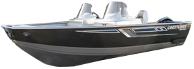 1600 Vision DC Outboard Crestliner Boat Covers | Custom Sunbrella® Crestliner Covers | Cover World
