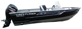 1600 Vision SC Outboard Crestliner Boat Covers | Custom Sunbrella® Crestliner Covers | Cover World