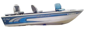 1640 Nighthawk Outboard Crestliner Bimini Tops | Custom Sunbrella® Crestliner Covers | Cover World