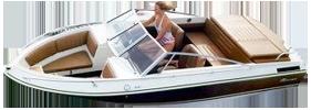 1645 Crusader Sterndrive Crestliner Boat Covers | Custom Sunbrella® Crestliner Covers | Cover World