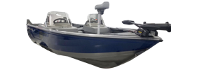 1650 Fish Hawk SC Outboard Crestliner Bimini Tops | Custom Sunbrella® Crestliner Covers | Cover World