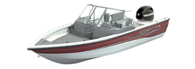 1650 Sport Angler Outboard Crestliner Boat Covers | Custom Sunbrella® Crestliner Covers | Cover World