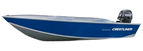 1650 Sportsman SC Outboard Crestliner Boat Covers | Custom Sunbrella® Crestliner Covers | Cover World