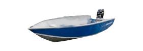 1650 Sportsman Tiller WT Outboard Crestliner Boat Covers | Custom Sunbrella® Crestliner Covers | Cover World