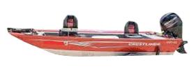 1657 SS Outboard Crestliner Boat Covers | Custom Sunbrella® Crestliner Covers | Cover World