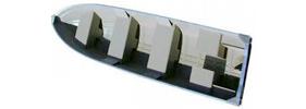 1667 Xcr V Outboard Crestliner Boat Covers | Custom Sunbrella® Crestliner Covers | Cover World