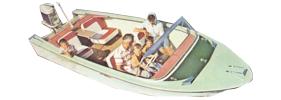 17 Del Rio Outboard Crestliner Boat Covers | Custom Sunbrella® Crestliner Covers | Cover World