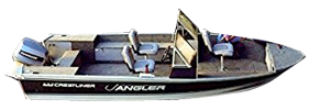 170 Crusader Angler Console Outboard Crestliner Boat Covers