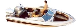 170 Crusader Sportfish Outboard Crestliner Boat Covers | Custom Sunbrella® Crestliner Covers | Cover World
