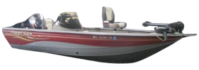 1700 Fish Hawk SC Outboard Crestliner Bimini Tops | Custom Sunbrella® Crestliner Covers | Cover World