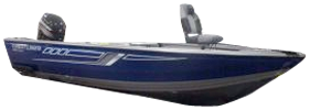 1700 Vision DC Outboard Crestliner Boat Covers | Custom Sunbrella® Crestliner Covers | Cover World