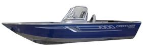 1700 Vision WT Outboard Crestliner Boat Covers | Custom Sunbrella® Crestliner Covers | Cover World
