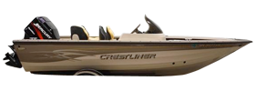 172 Tournament SC Outboard Crestliner Bimini Tops | Custom Sunbrella® Crestliner Covers | Cover World
