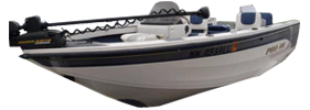 1750 Pro AM Dakota Sport Outboard Crestliner Bimini Tops | Custom Sunbrella® Crestliner Covers | Cover World