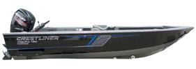 1750 Pro Tiller Outboard Crestliner Boat Covers | Custom Sunbrella® Crestliner Covers | Cover World