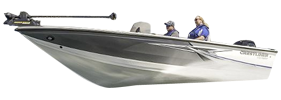 1750 Raptor WT Outboard Crestliner Bimini Tops | Custom Sunbrella® Crestliner Covers | Cover World
