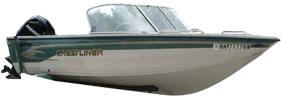 1750 Sportfish Outboard Crestliner Boat Covers | Custom Sunbrella® Crestliner Covers | Cover World