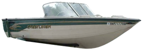 1750 Sportfish Sterndrive Crestliner Boat Covers | Custom Sunbrella® Crestliner Covers | Cover World