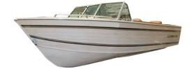 18 Nordic Sterndrive Crestliner Boat Covers | Custom Sunbrella® Crestliner Covers | Cover World