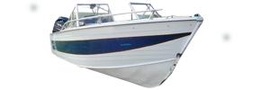 18 Sportfish Outboard Crestliner Boat Covers | Custom Sunbrella® Crestliner Covers | Cover World