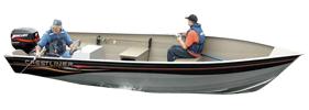 18 Sportsman SS Outboard Crestliner Boat Covers | Custom Sunbrella® Crestliner Covers | Cover World
