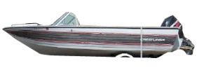180 Phantom SST Outboard Crestliner Boat Covers | Custom Sunbrella® Crestliner Covers | Cover World